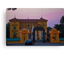 Vietnam. Hanoi. Presidential Palace at sunset. Canvas Print