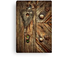 Unlock My Heart Canvas Print