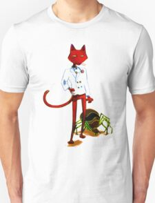Katz from Courage the Cowardly Dog T-Shirt