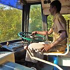 driving a bus bare feet by shireengol