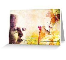 Inner Spirit—Greeting Card Greeting Card