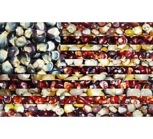 """""""American Maize"""" Flag Collage Photographic Print"""