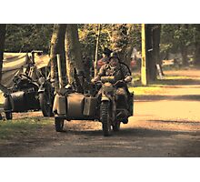VE Day Re-enactment Photographic Print