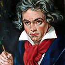 Beethoven after Joseph Carl Stieler by Hidemi Tada
