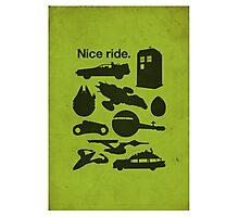 Nice Ride Photographic Print