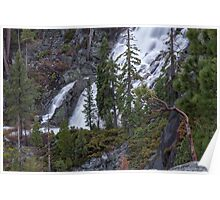Lower Eagle Falls-Emerald Bay Poster