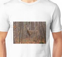 In the Stillness of the Woods - White-tailed Deer Unisex T-Shirt