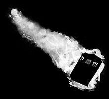 Doctor Who TARDIS - Minimalist by theshittywizard