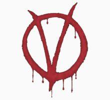 V for Vendetta Tee by whatthefart
