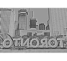 Toronto Nathan Phillips Square Photographic Print