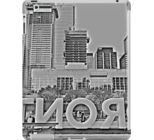 Toronto Nathan Phillips Square iPad Case/Skin