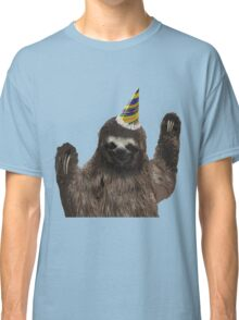 Party Animal - Sloth Classic T-Shirt