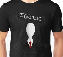 I Believe: Slenderman Unisex T-Shirt