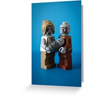 Zombie Family Portrait Greeting Card