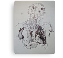 Corpse Canvas Print