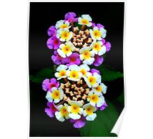 Button Flowers Poster