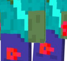Minecraft - walking dead Sticker