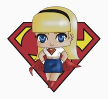 Chibi Supergirl alt Kids Clothes