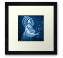 Her time to fly Framed Print