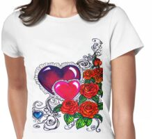 mother's day card without words Womens Fitted T-Shirt
