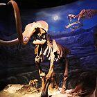 Sabertooth attacking Mammoth by Johnathan Perreal