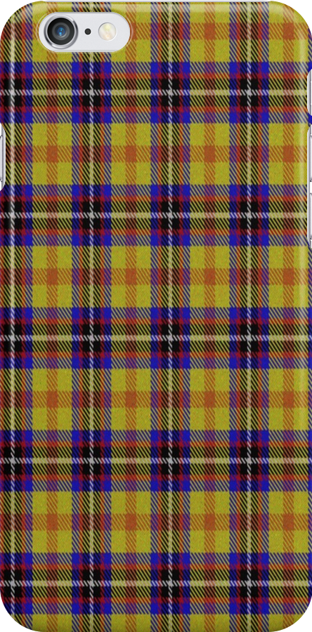 02326 San Diego County, California E-fficial Fashion Tartan Fabric Print Iphone Case by Detnecs2013