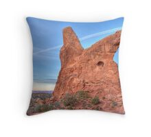 Turret Arch 3 Throw Pillow