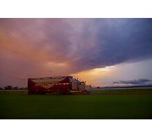 Truckload of storms Photographic Print