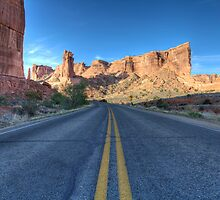Arches Scenic Highway 2, Moab, Utah by activebeck2012