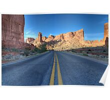 Arches Scenic Highway 2, Moab, Utah Poster