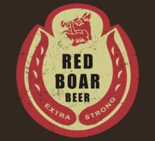 Black Knight's Red Boar Beer by karbondream