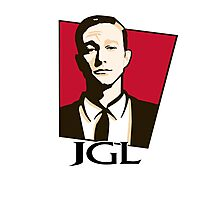 Joseph Gordon-Levitt - KFC Logo Photographic Print