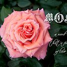 Watermelon Pink ~ A Rose for Mom by SummerJade
