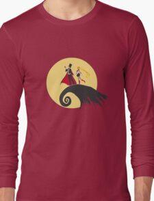 a sailor christmas Long Sleeve T-Shirt