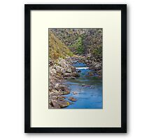 Cataract Gorge, Launceston, Tasmania Framed Print