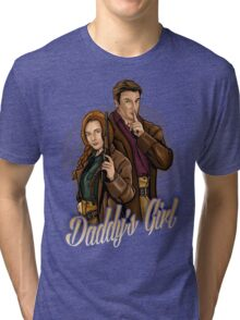 Daddy's Girl Tri-blend T-Shirt
