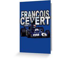Francois Cevert design Greeting Card