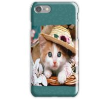 kitty  iPhone Case/Skin