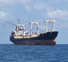 Cargo Ship Beril 1 by Malcolm Snook
