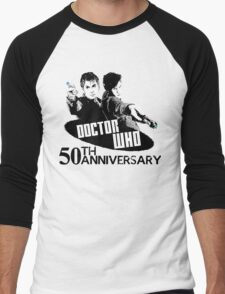 50th anniversary spoilers Men's Baseball ¾ T-Shirt