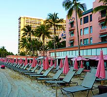 Pink Palace - Royal Hawaiian by Chris Brunton