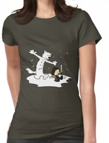 Jon and Ghost Womens Fitted T-Shirt