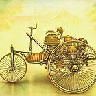 Old Cars Series #1 by Liza Barlow
