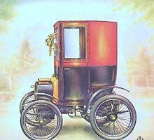 Old Cars Series #3 by Liza Barlow