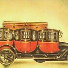 Old Cars Series #8 by Liza Barlow
