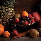 Fruit Bowl Still Life by Jerry Deutsch