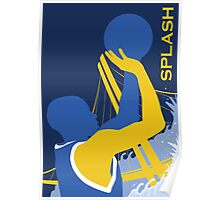 """Golden State Warriors """"Dubs"""" Stephen Curry Poster Poster"""
