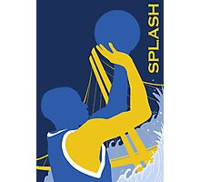 """Golden State Warriors """"Dubs"""" Stephen Curry Poster Photographic Print"""