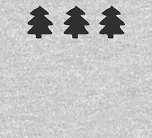 Addams Christmas Trees Pattern T-Shirt