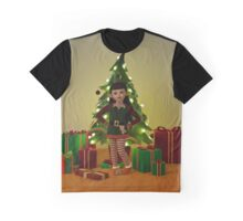 The Christmas Elf Graphic T-Shirt